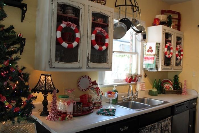 invierno opciones decorar cocina vintage ideas