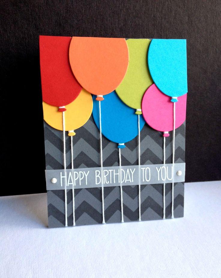 invitaciones de cumpleaños globos colores ideas