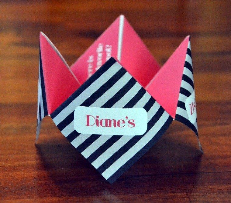 invitaciones cumpleanos originales rosa negro blanco - Invitaciones De Cumpleaos Originales