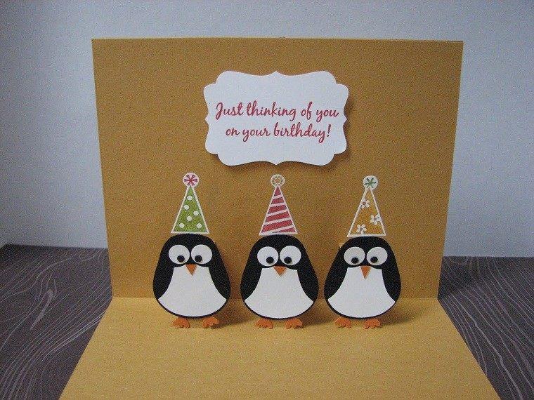 invitaciones cumpleanos pinguinos alegres ideas