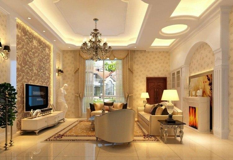 lampara decorado estilo moderno led