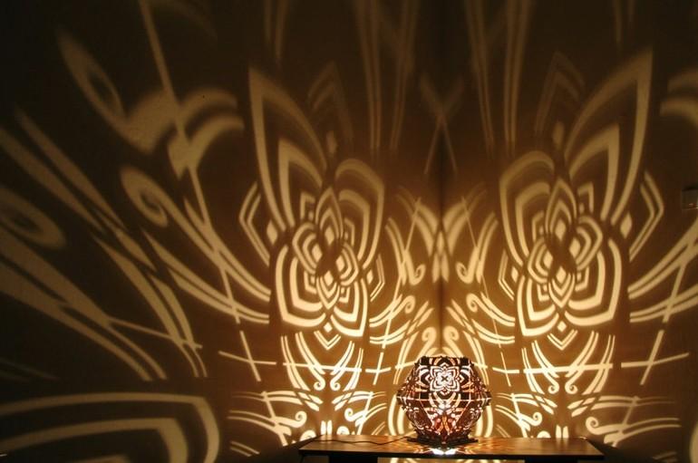 lamparas de mesilla sombras