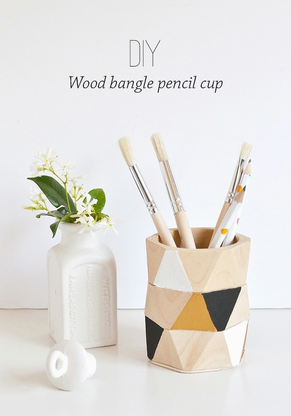 lapicero madera diseño diy