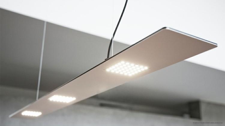led atractiva pendiente lamparas moderna