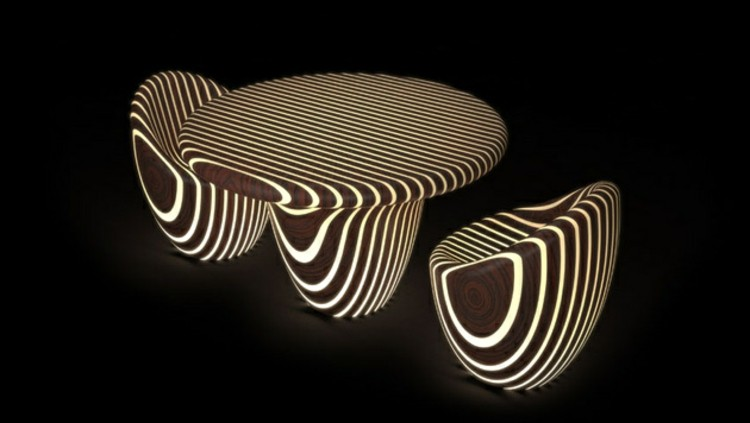 led-ideas-rayas-lineas-madera