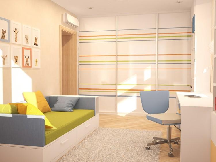 lineas paredes suelo colores listones