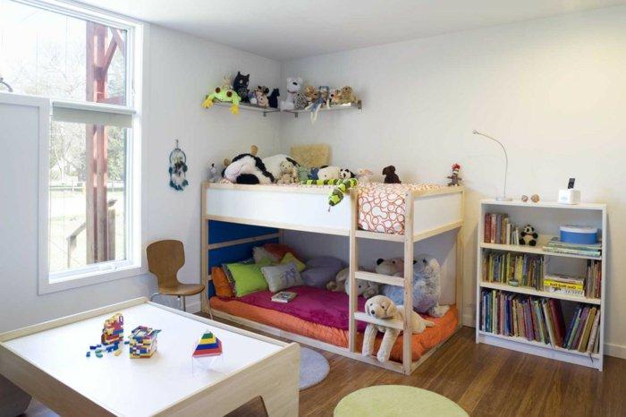 literas habitacion infantil maderas mesas juguetes