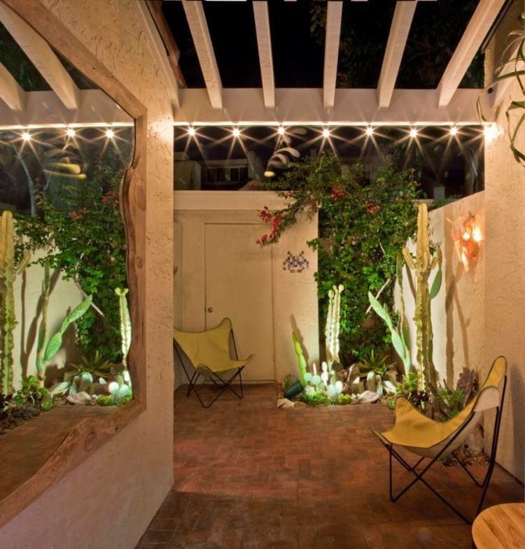 Iluminacion jardines y terrazas con luminarias cautivadoras - Luces para patios ...