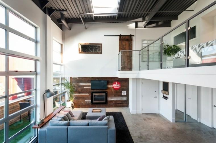 loft salon estilo vintage sofa grande ideas