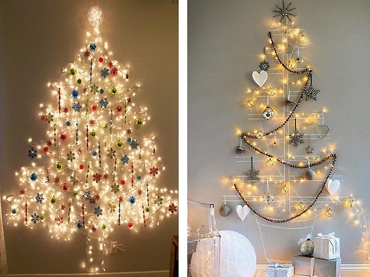 Arboles De Navidad Ideas Diferentes Para Fiestas Inolvidables - Arbol-navidad-diseo