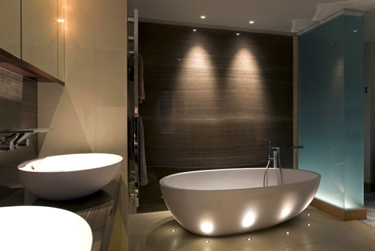 luces indirectas Led cuarto baño