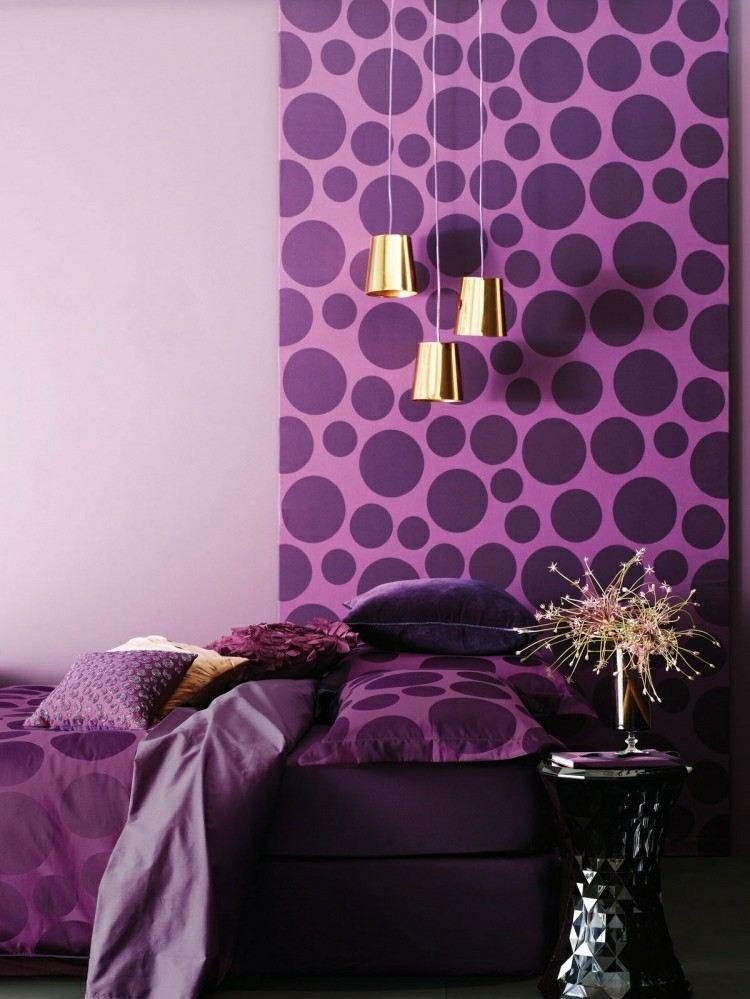 lunares paredes decorado jarrones colorido