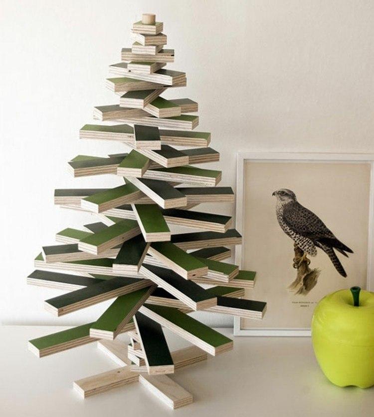 madera arboles navidad soluciones cuadro