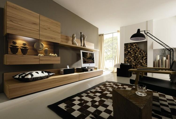 madera detalles cojines ideas lamparas