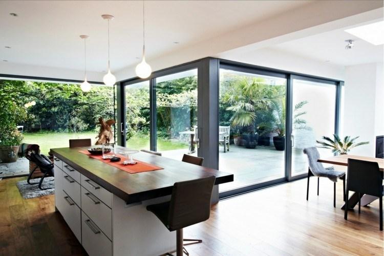 madera diseños estilos casas salones gavetas