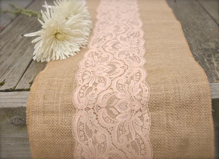 arpillera para decorar la mesa 50 manteles r sticos