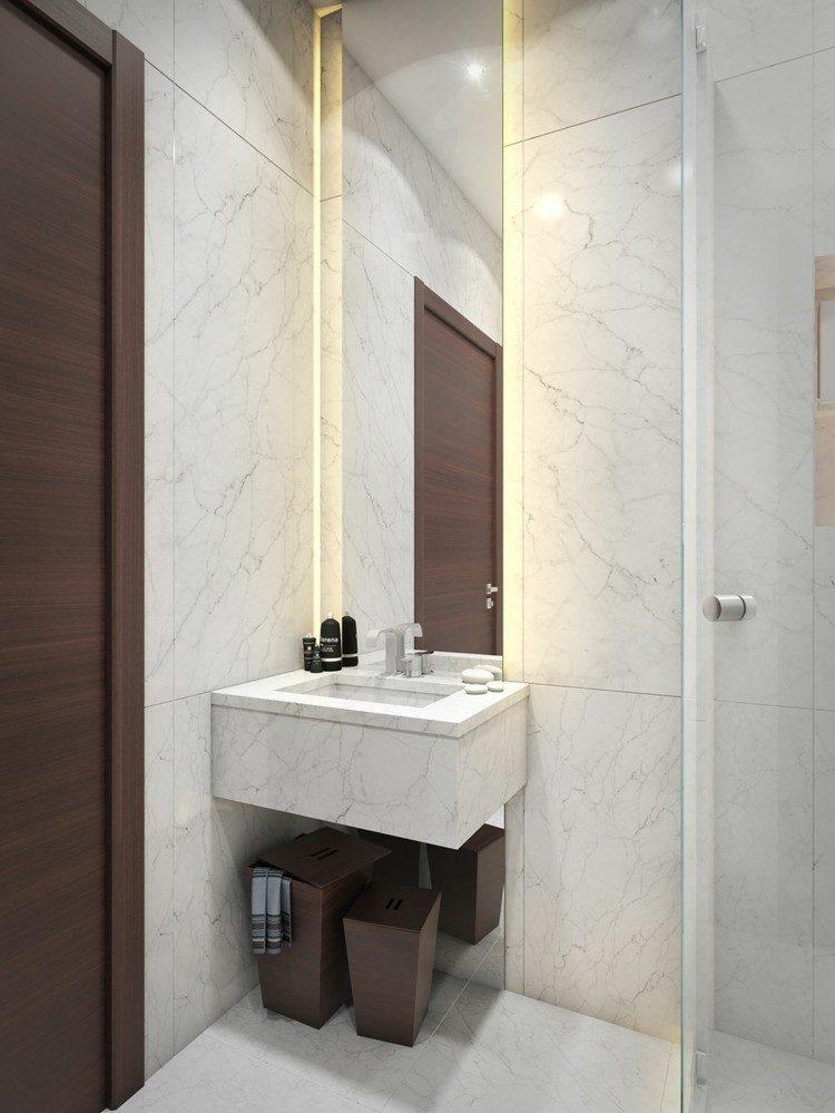 Baño Ducha Diferencia:Baño pequeño, creaciones únicas que harán la diferencia