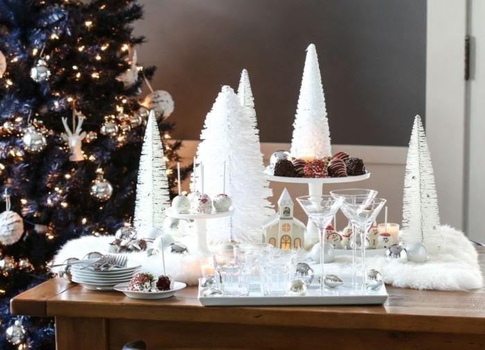 mesa preparada navidad fiesta preciosa ideas