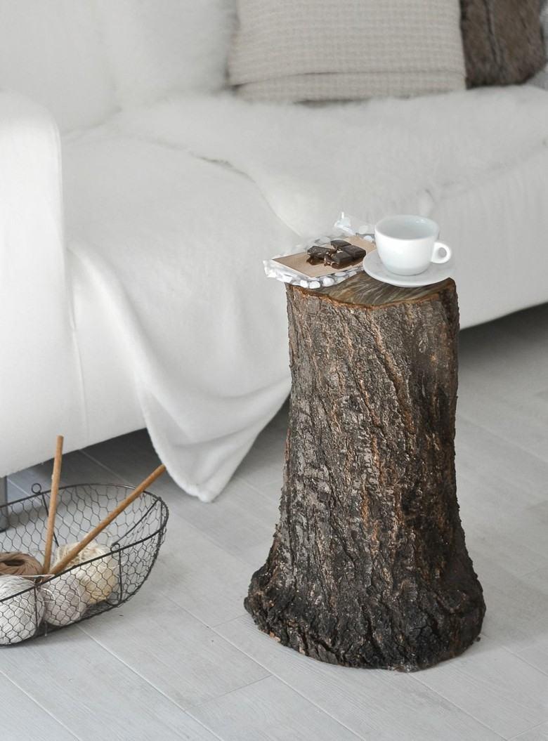 mesilla tronco natiral arbol madera