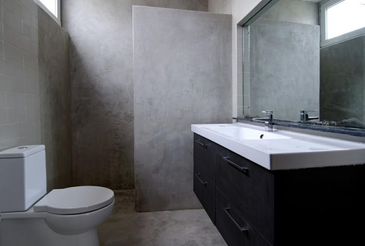 microcemento baños decorado natural madera