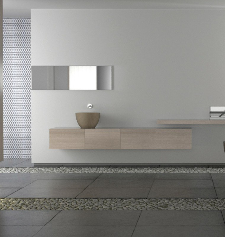 microcemento baños revestimiento suelos modernos