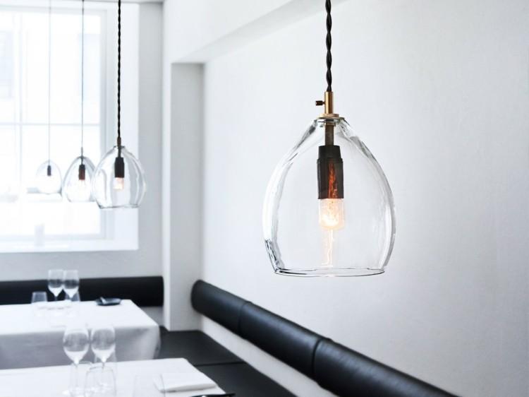 minimalista geometrico estilos vidrio cuerdas