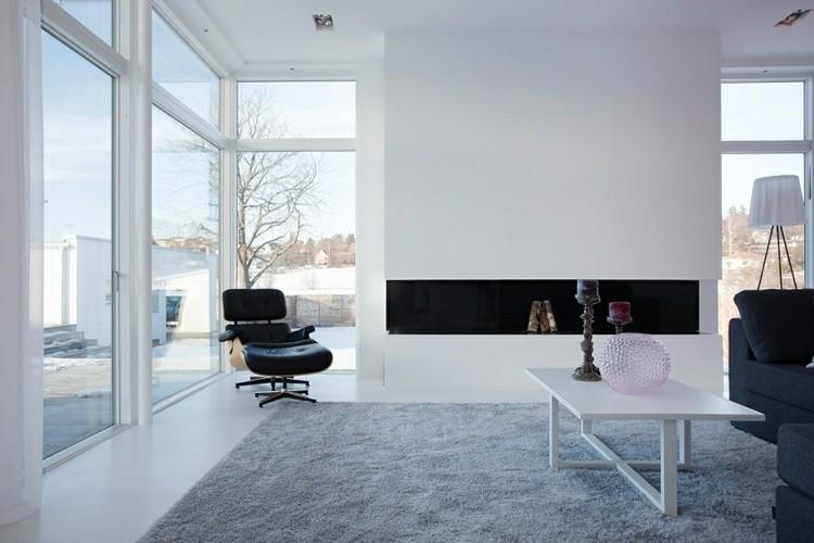 minimalista moderno alfombras gris exteriores