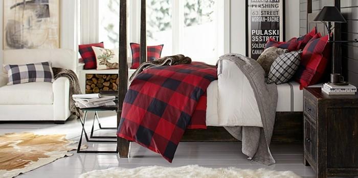 mirada natural dormitorio cama mesita madera ideas