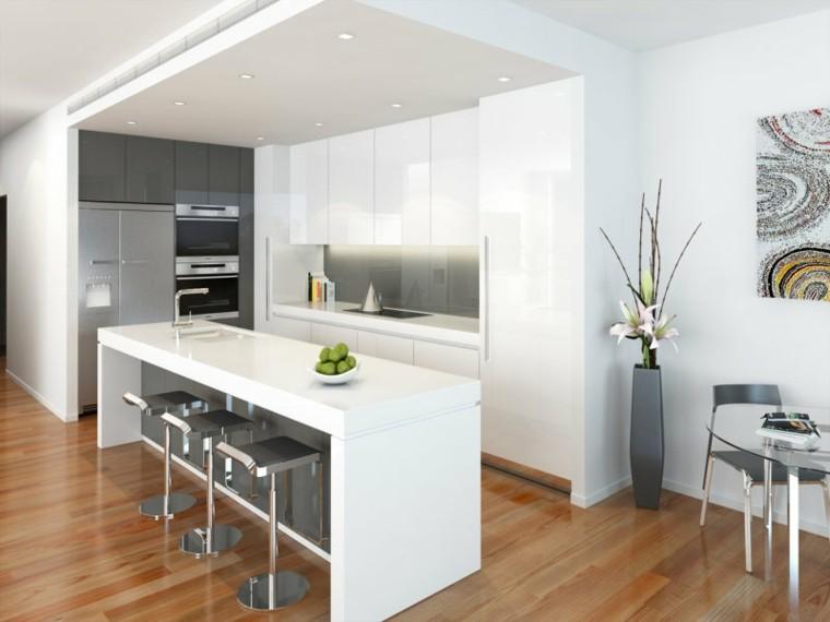 Modelos de cocinas modernas 38 im genes for Modelo de cocina con barra