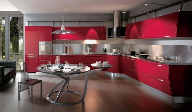modelos de cocinas estilos amplia lamparas
