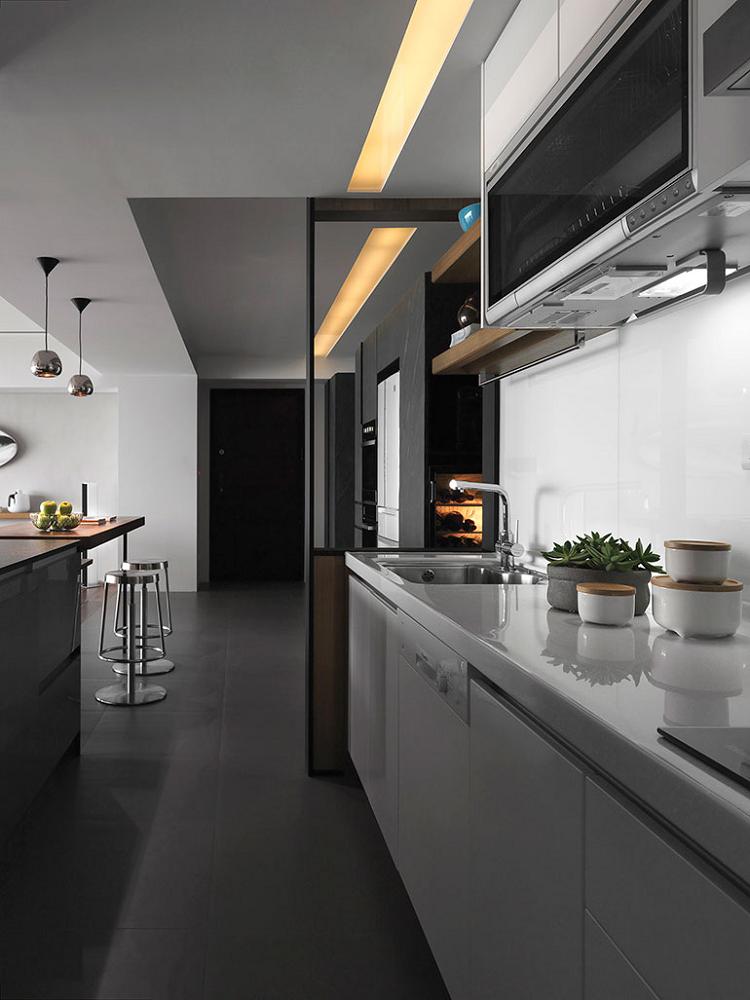 modelos de cocinas estilos industrial metales calido