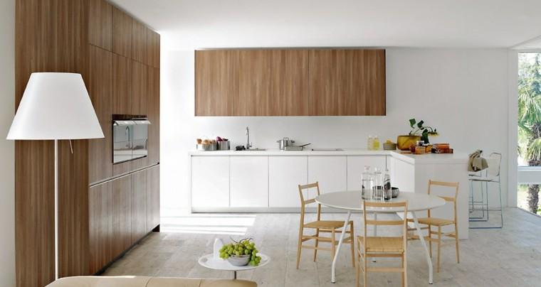 muebles cocina moderna madera