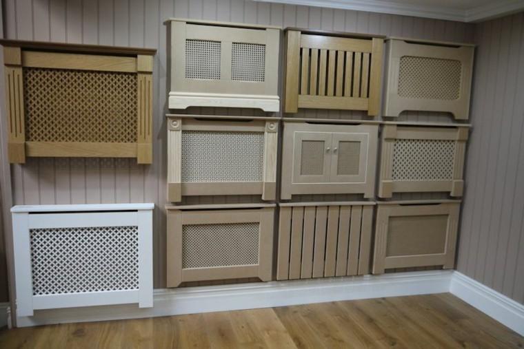 Radiadores cubiertos c mo camuflarlos de manera elegante - Muebles para cubrir radiadores ...