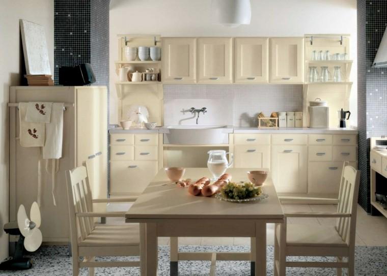 muebles cocina color beige