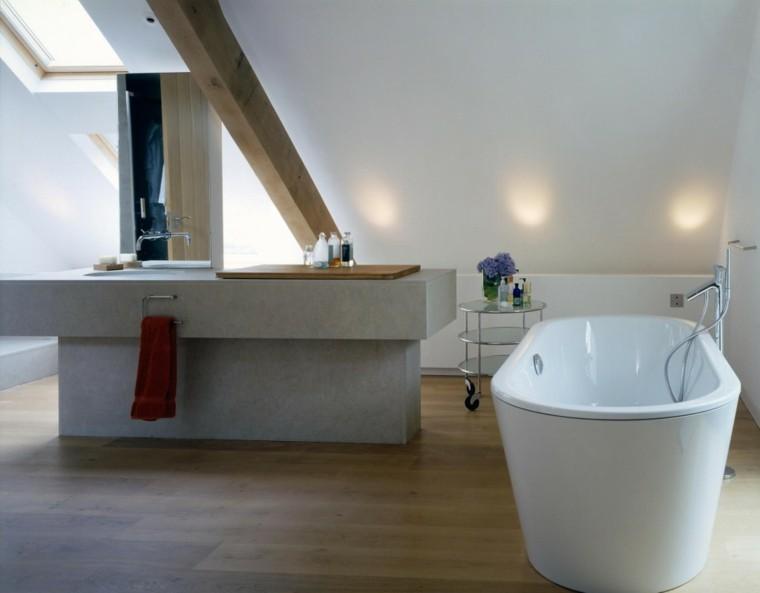 mueble lavabo baño cemento