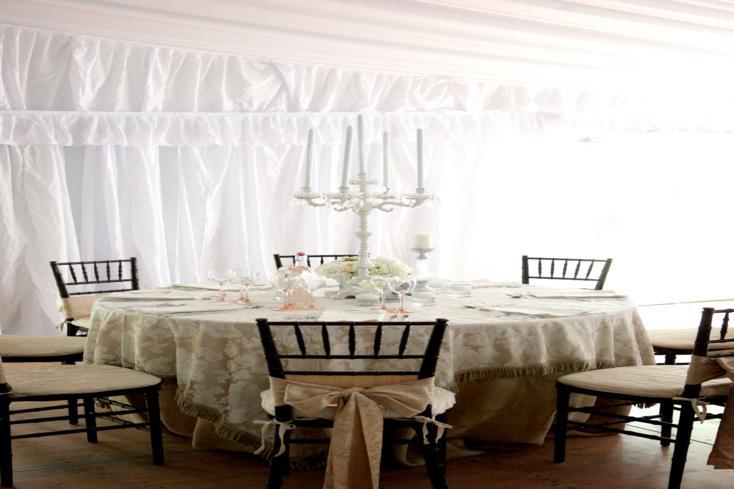 muebles comedor candelabro blanco