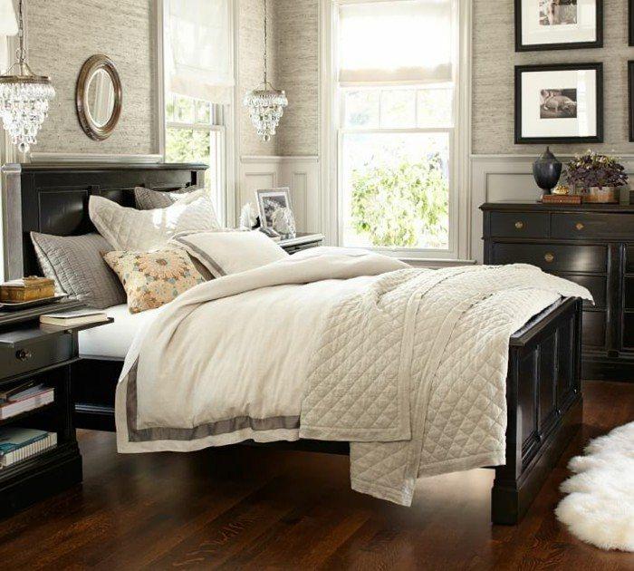 muebles-madera-negra-suelo-madera-marron