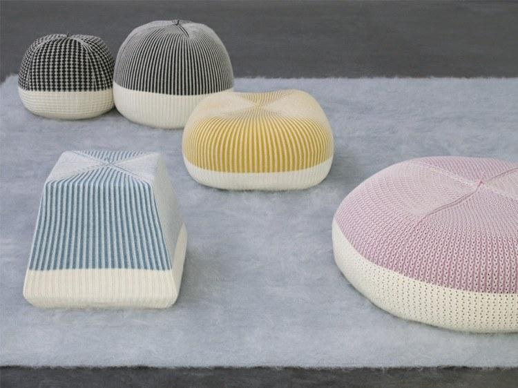 muebles modernos salon lineas alfombra blanco