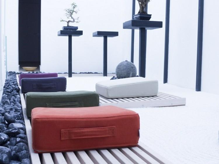 muebles modernos salon rocas sillones