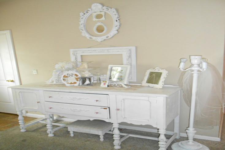 Muebles pintados de blanco top para la decoracin del - Muebles pintados en blanco ...