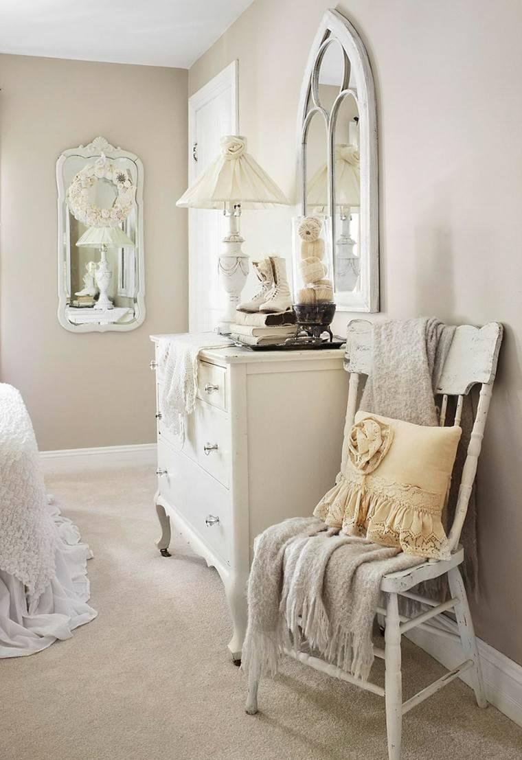mueble vintage habitaciones decoradas ideas