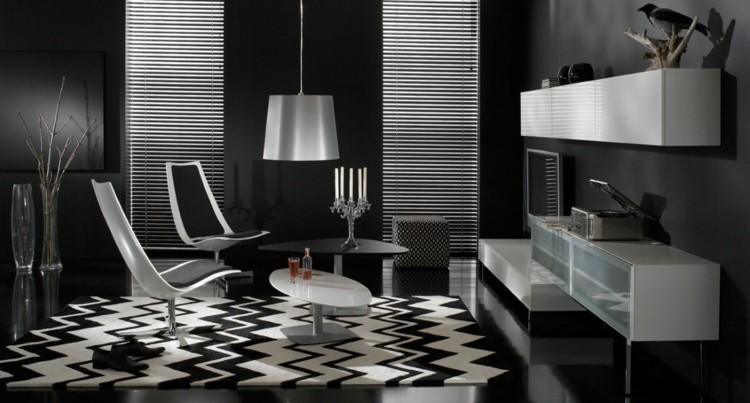 negro estilo casa diseño cuadros