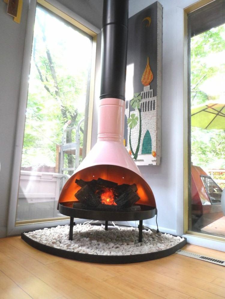 nuevo estilo casas chimeneas rosa cristales