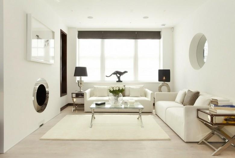 original diseño salon blanco