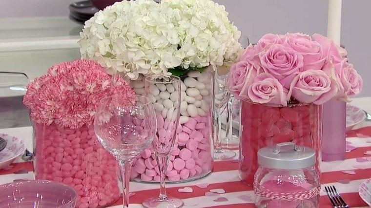 original decoración color rosa