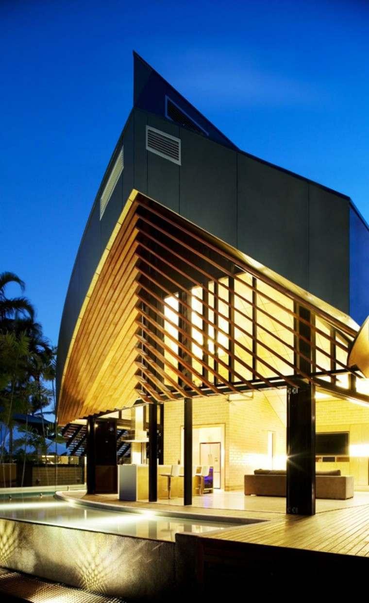 Fachadas modernas de estilo contempor neo for Best type of architecture