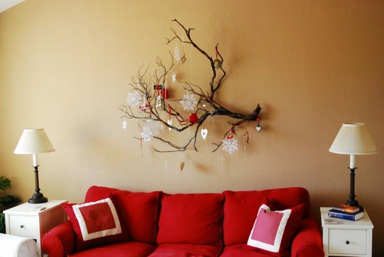 original adorno pared navidad