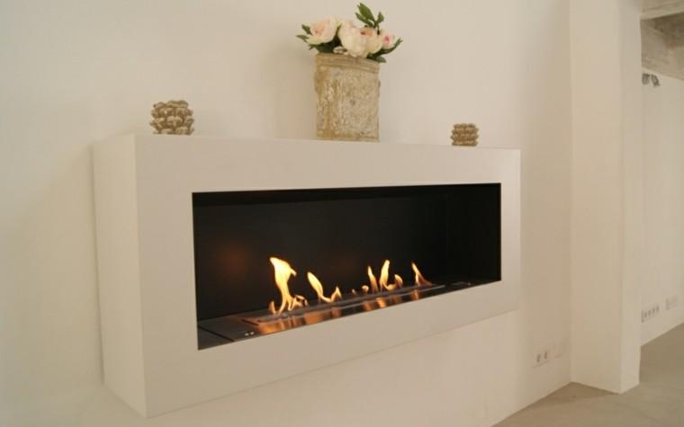 chimeneas de bioetanol para interiores modernos. Black Bedroom Furniture Sets. Home Design Ideas