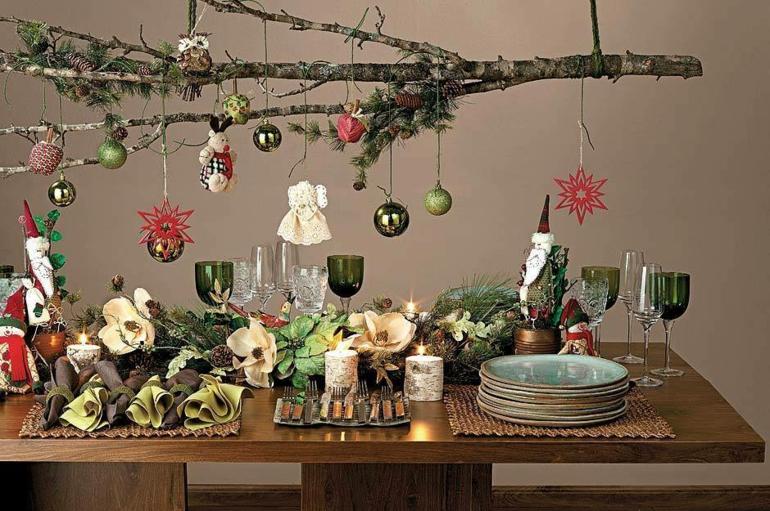 original decoración casera navidad