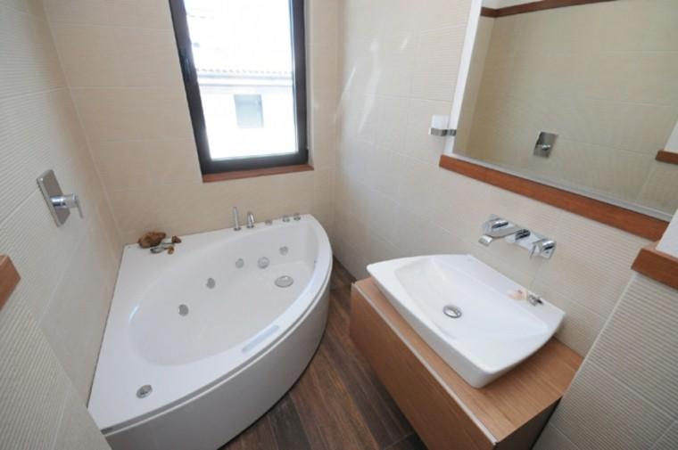Baño Pequeno Original:Microcemento baños con cubiertas frescas y atractivas